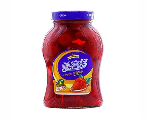 湖南草莓罐头