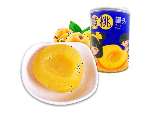 湖南黄桃罐头